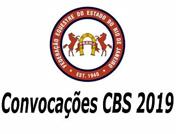 <b>Convocações CBS 2019</b>