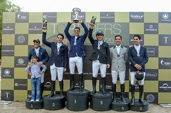 <b>O Top Carioca Thiago Mattos com Hermes do Santo Antonio fica em 3º GP Top Riders</b>