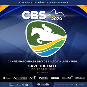 <b>CBS – Mini Mirim, Pré Mirim, Mirim, Pré Junior e Junior - SHB - 2020</b>