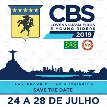 <b>CBS Jovens Cavaleiros e Young Riders - Sociedade Hípica Brasileira - SHB - 2019</b>